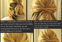 Hair, fashion, etc