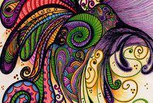 art, zentangle