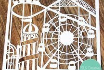 Cards With Ferris Wheels