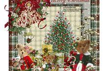 Kerstmis Teddyberen