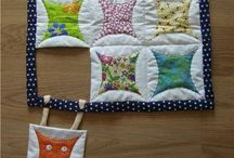 Quilting and sewing inspiration / by Sue Tsangaris