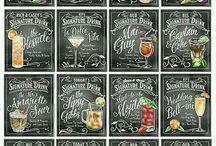 Chalk Board Style