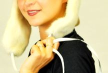 White fur accessories / Amifur.co.uk offers luxurious white fur accessories, handmade in Italy.  www.amifur.co.uk