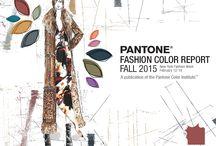 Pantone Fall 2015 Fashion Colors