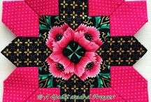 LUCY BOSTON  Blocks-Quilts