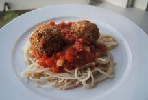 almond pulp recipes / by Julie Davidson