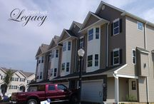 Legacy Model / Photos of the Legacy Model Lehigh Valley Townhomes available from Paxos Homes.