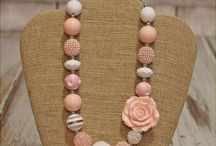 Kids project necklaces