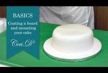Tutorials cake icing