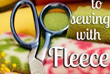 Working with Fleece - Sew Boxes