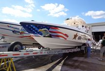 Boat Wraps & Graphics / We design, produce and install all types of boat wraps and graphics