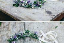 Florales Haar/ hair/ Brisanz accessories