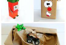 Pakke inn pakker