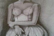 Rajzaim / Ha nem varrok, akkor rajzolok! Grafittal, mert azt szeretem.