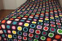 sobrecamas crochet