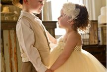Flower Girl & Ring Bearer / by WeddingPhotoUSA