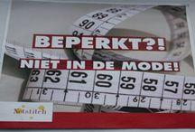 Kledinglijnen voor en door mensen met een beperking. Accessoires en gepersonaliseerde adeautjes. / Drie kledinglijnen 'Skonn', 'Krekk' en 'Pluusz' voor en door mensen in een rolstoel. Mode op maat. Ook handgemaakte accessoires en artikelen van macramé en gepersonaliseerde cadeautjes: een geborduurde naam of logo op babypakketten, sport- en vrijetijdsartikelen en bedrijfskleding.  Kijk op www.netstitch.nl en volg Netstitch op www.facebook.com/netstitchschijndel en/of op twitter: www.twitter.com/netstitch