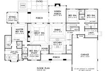 Floor plans for dream homes / by Roxanne Warfel