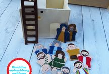 In the Hoop Embroidery Designs - Puppets