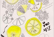 Food Illustration / Inspiration for Foodillustration