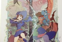 Little Witch Academia :3