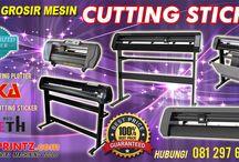 Mesin Cutting Stiker / PUSAT DISTRIBUTOR JUAL ANEKA MESIN CUTTING STICKER, CUTTING PLOTTER MODEL TERBARU HARGA TERMURAH KUALITAS TERBAIK
