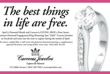 Events & Promotions / Our Events and Promotions are as sparkling as our jewelry! We look forward to celebrating life's occasions with you.