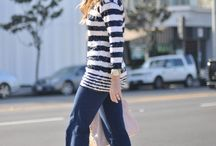 clothes: stripes! / by Breanne