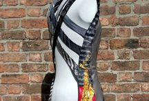 Redesigned ties and belts