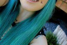 dimple piecing