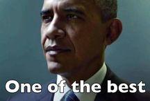 Barack  Obama;    First Black President of the USA.