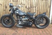 Vintage Harley Davidson
