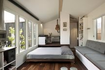Small House Living / Small to Tiny size houses / by Barbara Miller