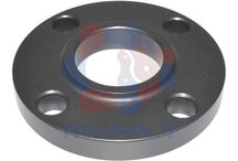 """Lap Joint Flanges / Lap Joint Flanges are used in conjunction with """"Lap Joint Stub Ends"""".  These flanges are nearly identical to Slip On flanges with the exception of the radius at the intersection of the flange face and the bore. Lap Joint Flanges may be used at all pressures and are available in a full size range. These flanges slip over the pipe. Bolting pressure is transmitted to the gasket by the pressure of the flange against the back of the pipe lap. http://www.trupply.com/collections/lap-joint-flange"""