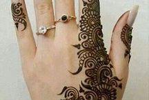 Hinduskie tatuaże (henna)