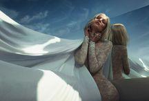 "white 8 Artist management | Rabat Editorial ""White reflection"" shot by Xavi Gordo"