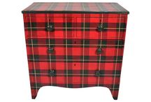 Tartan home and clothes / It's about checked world.