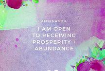 Affirmation + Positive Thinking