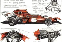 Drawings of Werner BUHRER