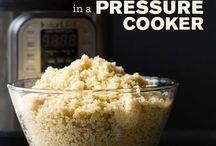 Instapot quinoa