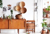 Mid Century Eclectic Living