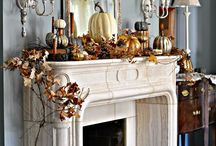 Fall Decor / Decorating the home for fall with simple, creative, affordable touches!