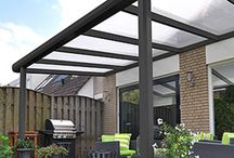 Tuin overkapping/veranda