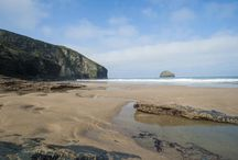 TREBARWITH STRAND, NORTH CORNWALL / Including Tregardock beach.  About 30 Miles (50 mins drive) from us.