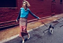 Fashion and Dogs / Fashionista with great brands and Dogs on the front cover..