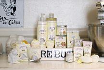 Our Creations: Lemon Bon-Bon / Our delicious Patisserie de Bain Lemon Bon-Bon products.