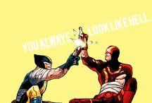 Wolverine x cyklops