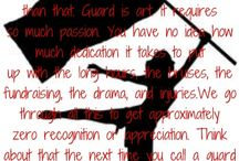 Color guard / by Shelli Timmons-Blankenbaker