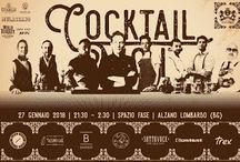 Cocktail Night: 7 re della mixology per una notte da ricordare 27 gennaio Alzano Lombardo (BG)