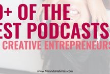 Podcast Tips / Podcast best practices and a rich resource of podcasts to follow for motivation and tips on growing your business to success.